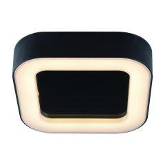 Biard Plafón de Techo Cuadrado Negro para Espacios Interiores 13W - Ambiente