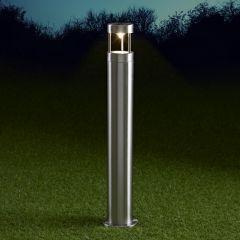 Biard Sobremuro LED de 600mm para Exteriores de Acero Inoxidable y Bombilla GU10 - Niort