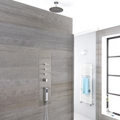 Conjuntos de ducha duchas for Duchas de techo precio