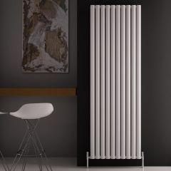 Radiador de Diseño Vertical Doble - Blanco - 1800mm x 590mm x 76mm - 2506 Vatios - Revive Air