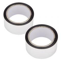 2 Rollos de Cinta adhesiva de aluminio de 50m x 50mm