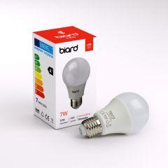 Biard Conjunto con 6 Bombillas LED E27 de 7W con Intensidad Luminosa Regulable