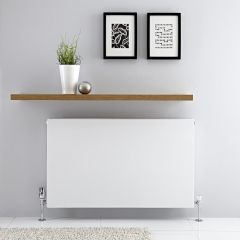 Radiador Convector Horizontal con Panel Doble Plus - Blanco - 600mm x 1000mm x 72,5mm - 1646 Vatios - Type 21