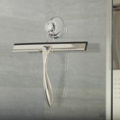 Limpia Mamparas y Limpia Cristales para Ducha con Ventosa