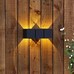 Biard Apliqué Doble de Pared Bidireccional 8W- Prism