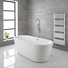 Bañera Exenta Oval Moderna 1695 x 750 x 590mm - Covelly