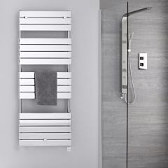 Radiador Toallero Eléctrico Plano - Cromado - 1512mm x 600mm - Lustro