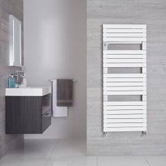 Radiador Toallero de Diseño Vertical - Blanco - 1360mm x 550mm - 989Vatios - Seina
