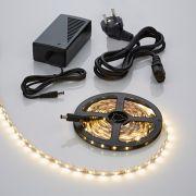 Biard Tira de Luces 300 LED 3528 de 5 Metros de Color Blanco Cálido