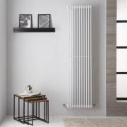Radiador de Diseño Vertical - Color Blanco - 1800mm x 445mm - 1584 Vatios - Roma