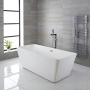 Bañera Exenta Rectangular Moderna 1615 x 720 x 585mm - Sandford