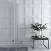 Radiador de Diseño Vertical Triple Tradicional - Blanco - 1800mm x 290mm x 100mm - 1169 Vatios - Regent