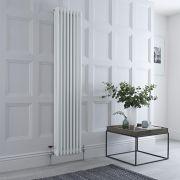 Radiador de Diseño Vertical Triple Tradicional - Blanco - 1800mm x 380mm x 100mm - 1558 Vatios - Regent