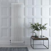 Radiador de Diseño Vertical Triple Tradicional - Blanco - 1800mm x 560mm x 100mm - 2338 Vatios - Regent
