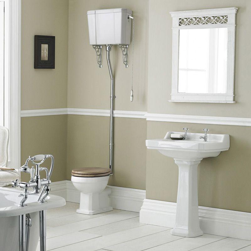 Conjunto de ba o completo con inodoro cisterna alta - Cisterna bano ...