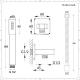 Conjunto de Ducha con Mezclador de Ducha Termostático de 3 Funciones de Color Níquel Cepillado, Alcachofa de Ducha Redonda de 200mm, Telefonillo y 4 Jets - Aldwick
