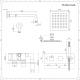 Mezclador de Ducha Empotrable Cuadrado de 2 Funciones con Alcachofa de 200mm y Telefonillo - Arvo