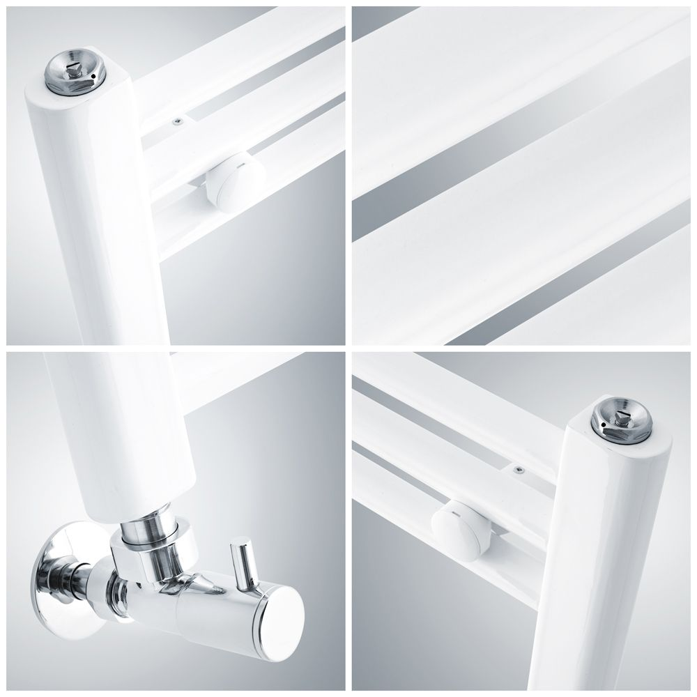 Serie G1/Color Blanco /Enchufe de muelle con tapa IP54/ depot8/ /Marco /All-in-One/ + Protectora