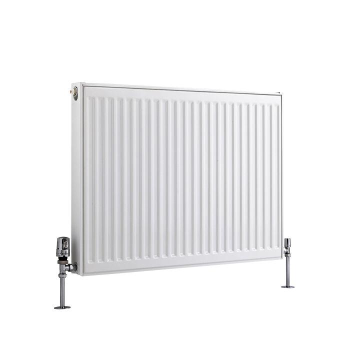 Radiador Convector Horizontal - Blanco - 600mm x 800mm x 50mm - 891 Vatios - Eco