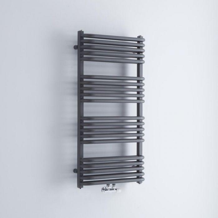 Radiador Toallero - Curvo - Antracita - 1000mm x 500mm - 986 Vatios - Arch