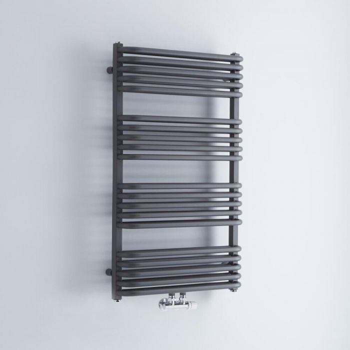 Radiador Toallero  - Curvo - Antracita - 1000mm x 600mm - 1157  Vatios - Arch