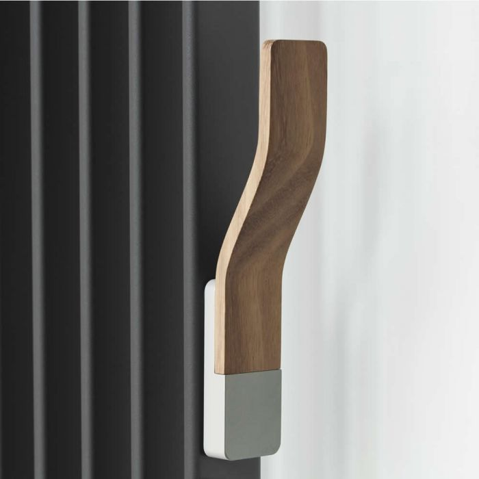 Colgador Perchero Para Radiadores y Radiadores Toallero de Diseño - Wood