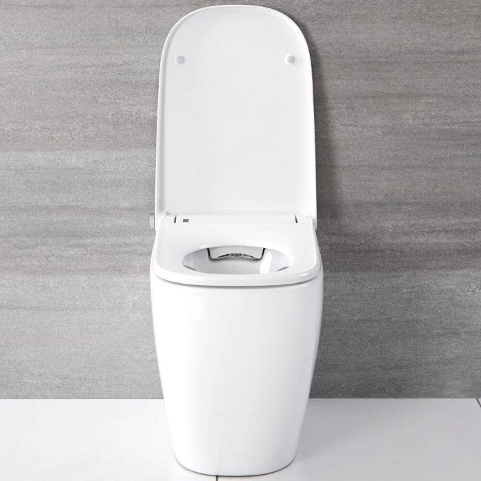 WC Japonés Adosado con Función Inodoro-Bidé Inteligente - Hirayu