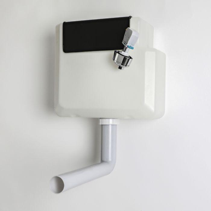 Cisterna Empotrable Suspendida para Inodoro con Sistema de Doble Descarga