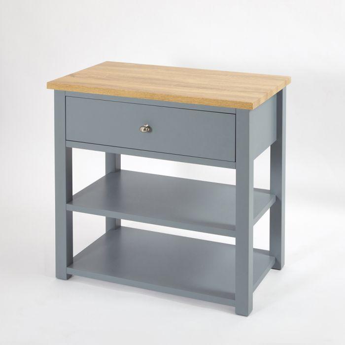 Mueble para Lavabo Tradicional de 840mm Color Gris Claro - Stratford