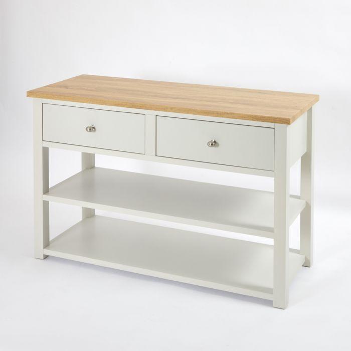 Mueble para Lavabo Tradicional de 1240mm Color Blanco Antiguo - Stratford
