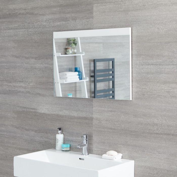 Espejo de 500x700mm para Cuarto de Baño Color Blanco Opaco - Newington