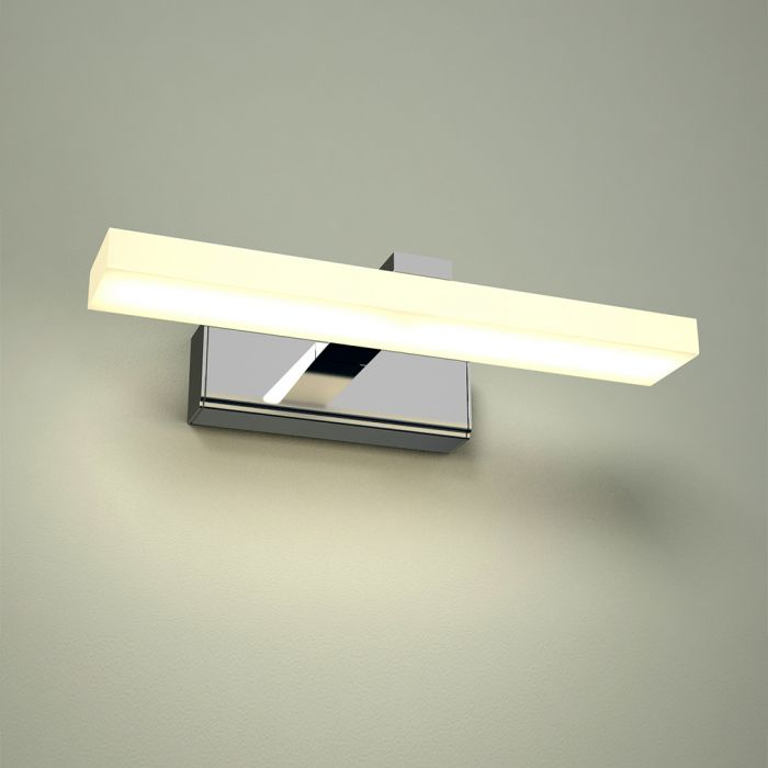 Aplique LED IP44 de Aluminio con Acabado Cromado para Espejo  - Ladoga