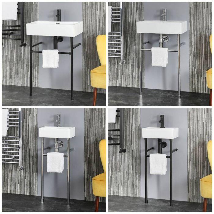 Lavabo Consola - Disponible en Distintos Tamaños y Acabados - Sandford
