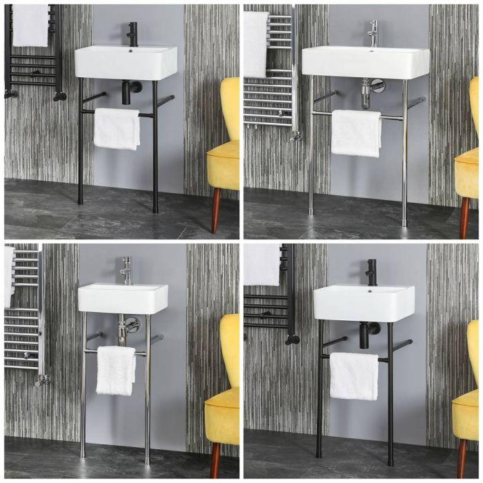 Lavabo Consola - Disponible en Distintos Tamaños y Acabados - Exton