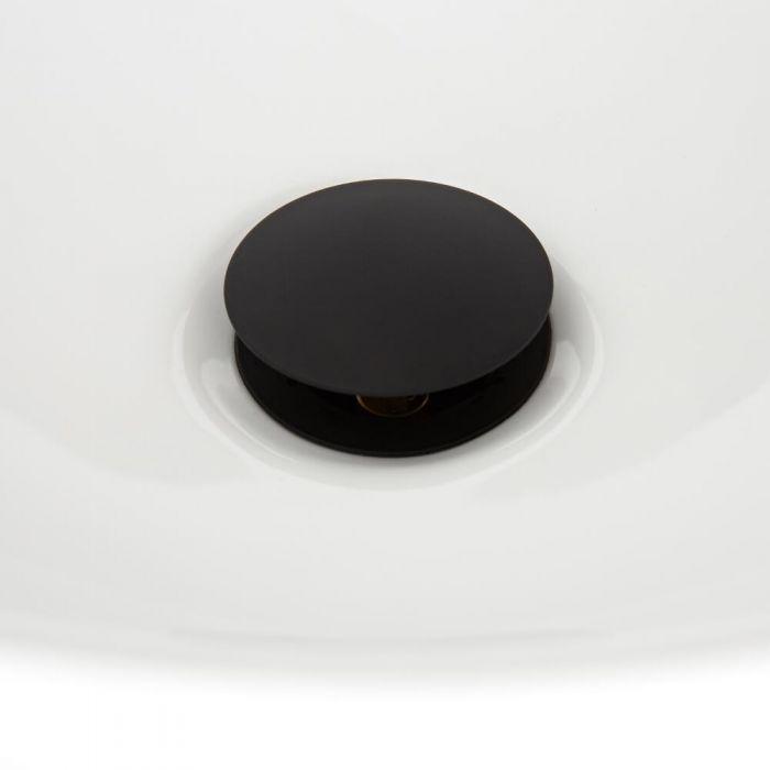 Válvula de Desagüe de Color Negro Clic Clac - Nox