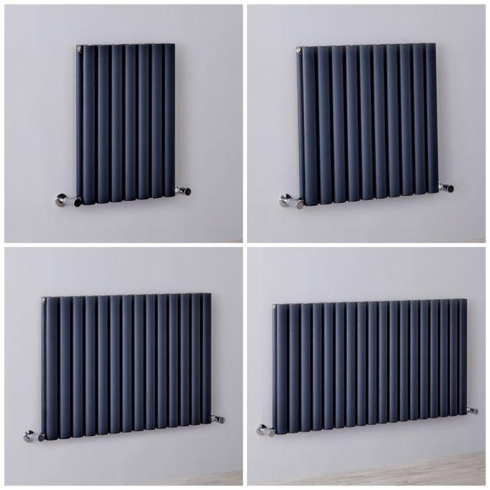 Radiador de Diseño Horizontal - Antracita - 600mm - Aluminio - Disponible en Distintas Medidas - Revive Air