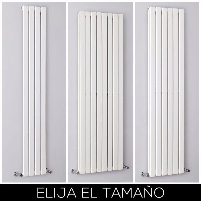 Radiador de Diseño Vertical Blanco Disponible en Distintos Tamaños -  Delta