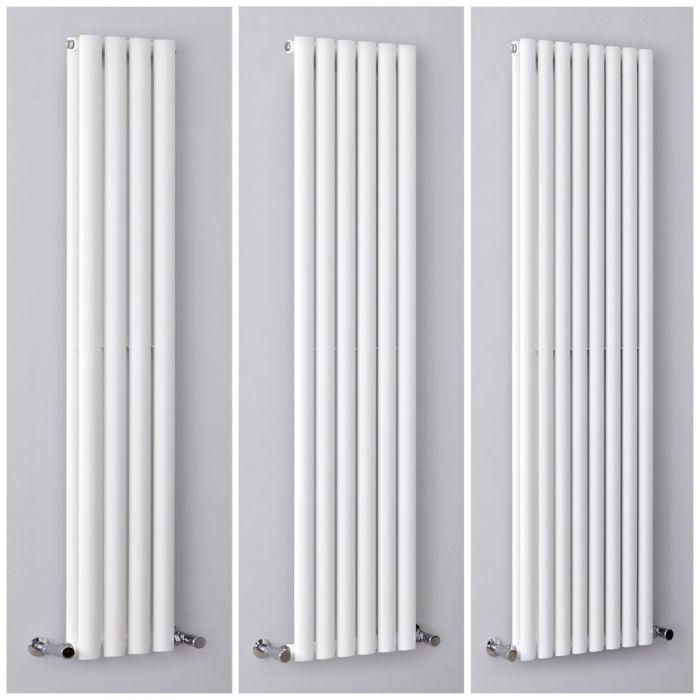Radiador de Diseño Vertical Blanco Disponible en Distintos Tamaños -  Revive