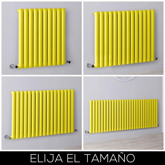 Radiador de Diseño Horizontal - Amarillo - Revive - Disponible en Distintas Medidas