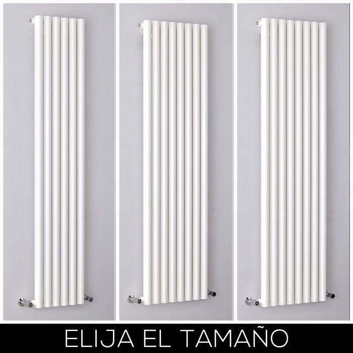 Radiador de Diseño Blanco Vertical - Savy - Disponible en Distintas Medidas