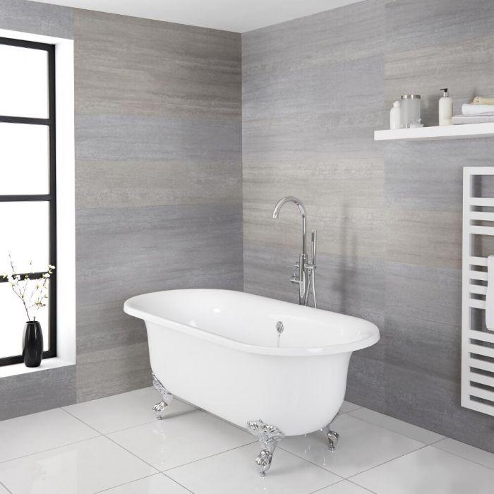 Bañera Acrílica Moderna Exenta Independiente 1730x780mm con Variedad de Distintas Patas para Bañera Disponibles – Richmond