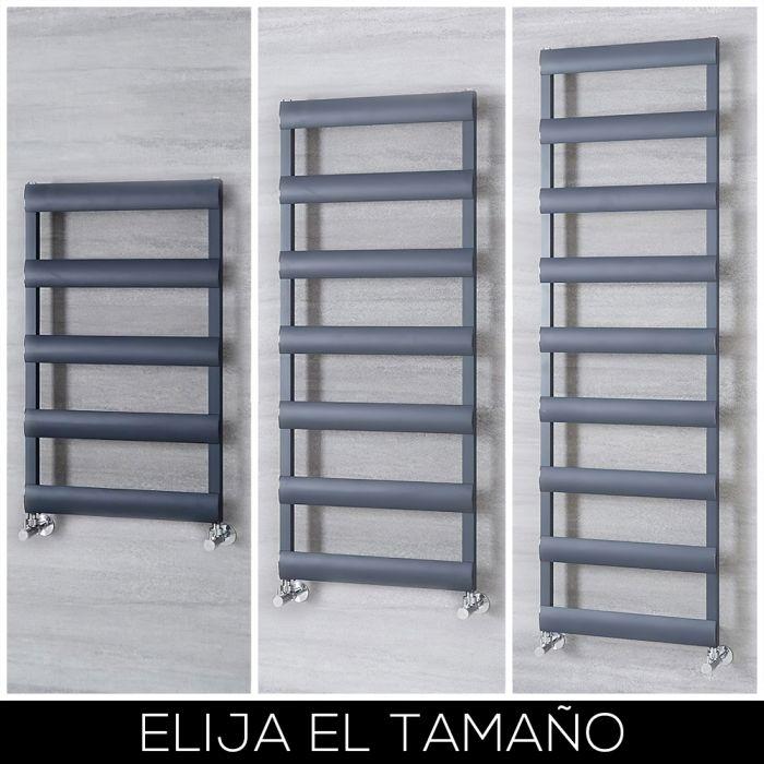 Radiador Toallero en Aluminio - Antracita - Disponible en Distintas Medidas - Gradus