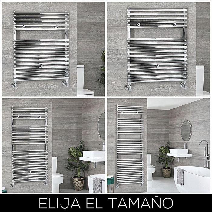 Radiador Toallero Cromado con Barras - Disponible en Distintas Medidas - Arno