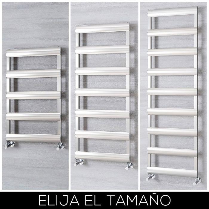 Radiador Toallero en Aluminio - Cromo Cepillado - Disponible en Distintas Medidas - Gradus