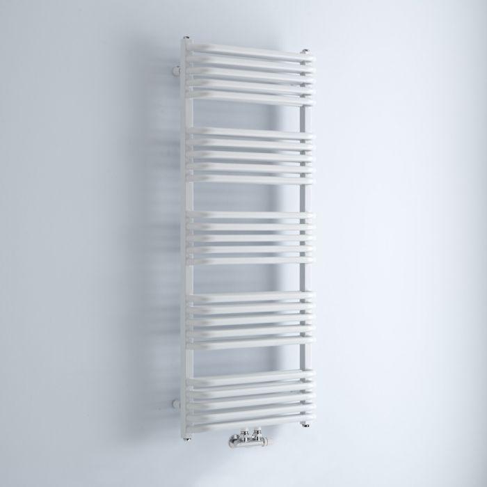 Radiador Toallero - Curvo - Blanco - 1269mm x 500mm - 1191 Vatios - Arch