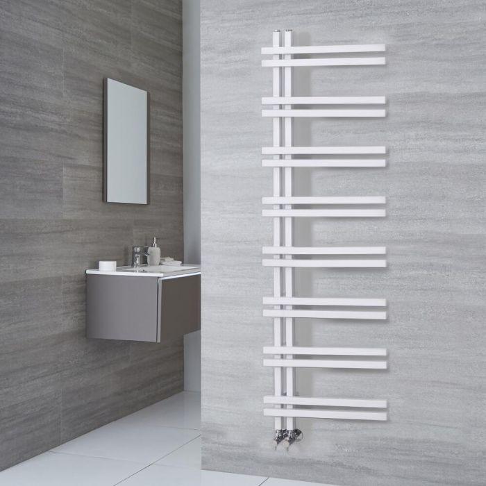 Radiador Toallero de Diseño - Aluminio - Blanco - 1600mm x 500mm - 701 Vatios - Tika