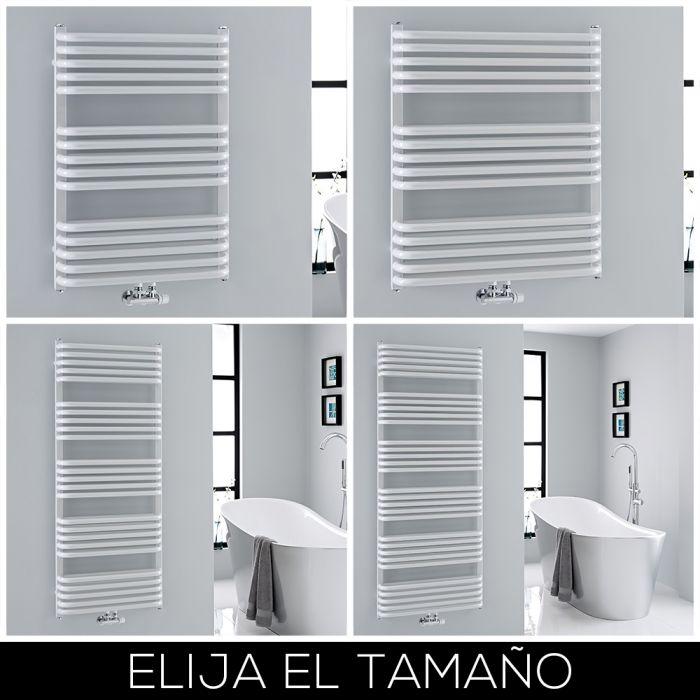 Radiador Toallero Curvo Blanco - Disponible en Distintas Medidas - Arch