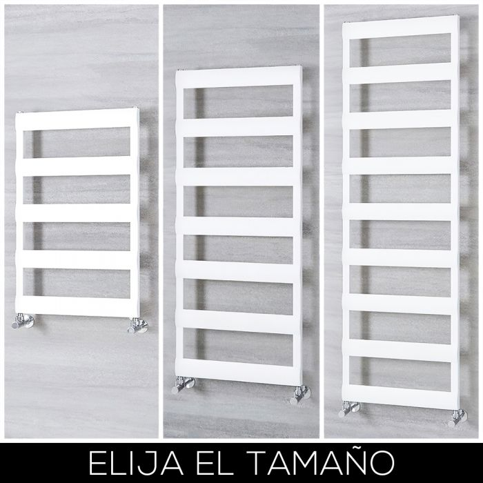 Radiador Toallero en Aluminio - Blanco - Disponible en Distintas Medidas - Gradus