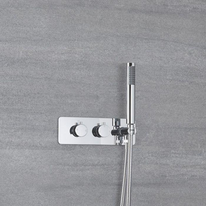 Mezclador de Ducha Empotrable de 2 Funciones con Desviador Integrado con Telefonillo - Mirage