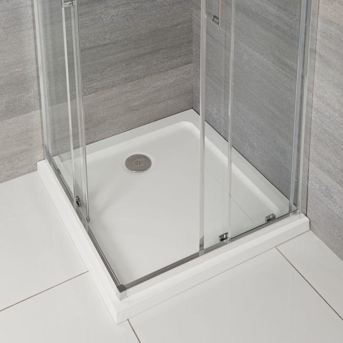 Plato de Ducha Cuadrado de 900x900mm Maxon